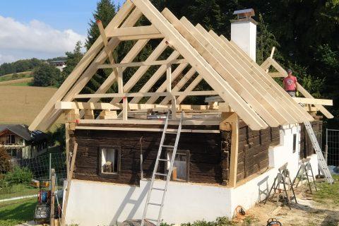Projekt Ziegel Dach